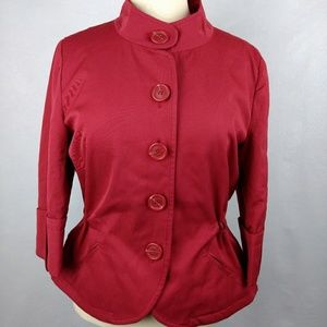 Chadwick's Collection jacket 3/4 sleeve red NICE